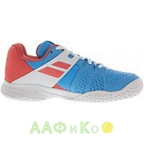 Кроссовки теннисные Babolat PROPULSE AC JR (небесно-голубой,розовый)