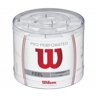 Намотка для теннисных ракеток Wilson PRO OVERGRIP 60шт/уп. (белая)