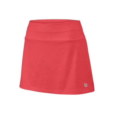 Юбка спортивная Wilson Core 11 Skirt Girl (розовая)