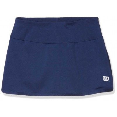 Юбка спортивная Wilson Team 11 Skirt Girl (синяя)