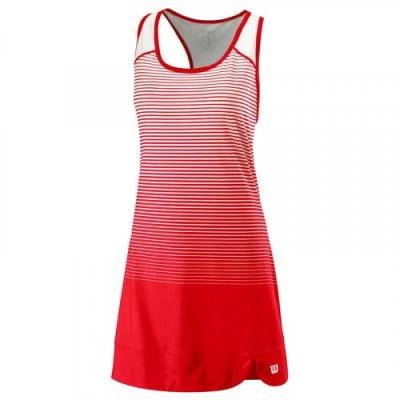 Платье женское Wilson Team Match Dress Women (красный/белый)