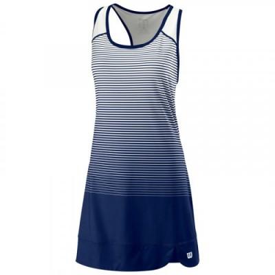 Платье женское Wilson Team Match Dress Women (синий/белый)