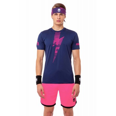 Футболка теннисная мужская HYDROGEN Thunderbolt Tech