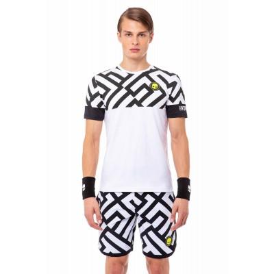 Футболка теннисная мужская HYDROGEN Tech Labyrinth