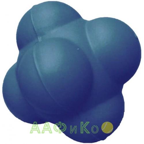 Мяч для тренировки реакции  7см синий твердый