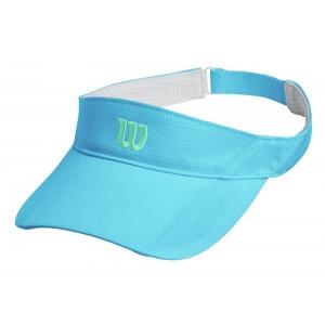 Козырек солнцезащитный Wilson Rush Knit Visor (голубой)