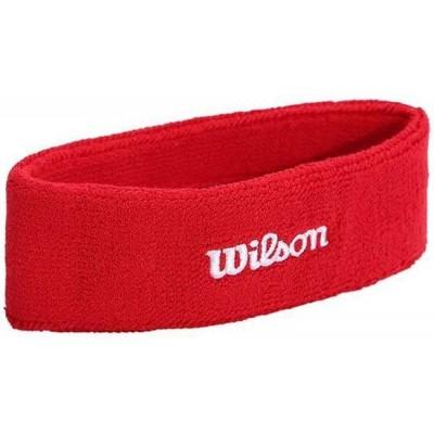 Повязка Wilson Headband для удаления пота (красная)