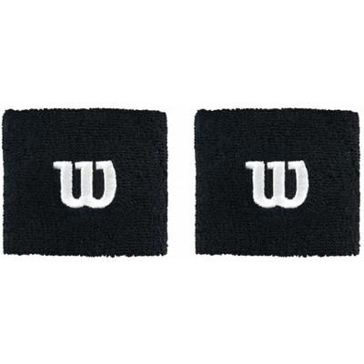Напульсники Wilson Wristband (чёрный), 2шт.