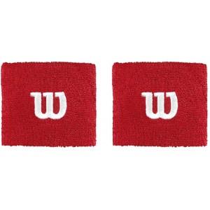 Напульсники Wilson Wristband (красный), 2шт.