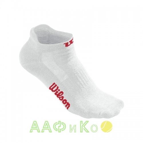 Носки спортивные Wilson Women's NoShow Sock 3 пары в упаковке (белый)