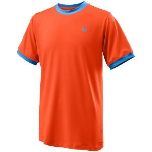 Майка спортивная Wilson Competition Crew Boy (оранжевая)