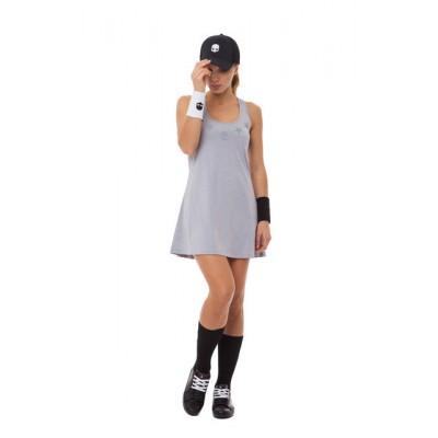 Платье женское Hydrogen STAR TECH (серый меланж)