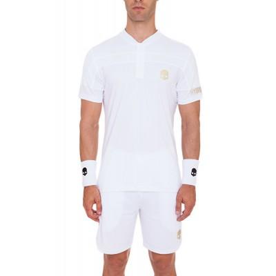Футболка теннисная мужская HYDROGEN WIMBLEDON SILVER TECH SERAFINO