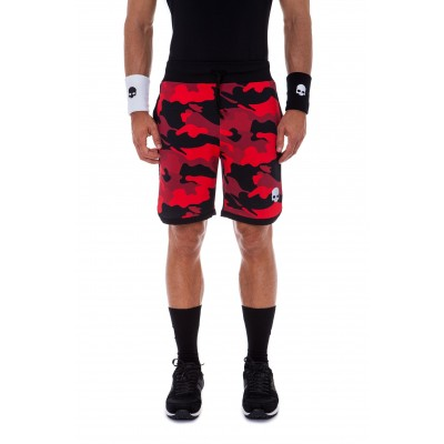 Шорты теннисные HYDROGEN CAMO TECH SHORTS RED CAMOUFLAGE MAN