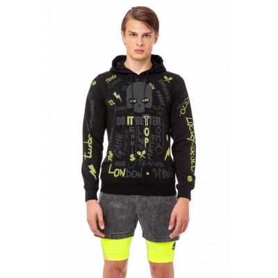 Кофта теннисная мужская Hydrogen GRAFFITI