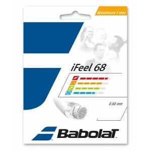 Струны для бадминтона BABOLAT IFEEL 0.68/10.2м (белый)