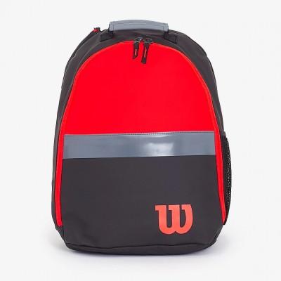 Рюкзак-сумка теннисная Wilson Clash Junior Backpack (чёрный/красный)