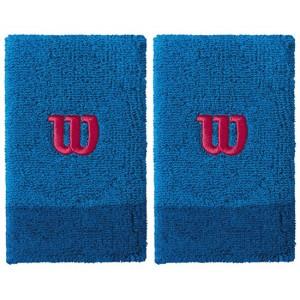 Напульсники Wilson Extra Wide Wristband (голубой), 2шт.