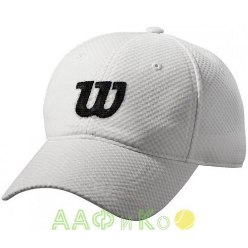 Бейсболка спортивная Wilson Summer Cap2 (белая)