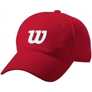 Бейсболка спортивная Wilson Summer Cap2 (красная)