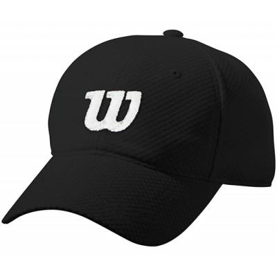 Бейсболка спортивная Wilson Summer Cap2 (чёрная)