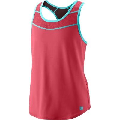 Майка спортивная детская для девочек Wilson Core Tank2 (розовый)