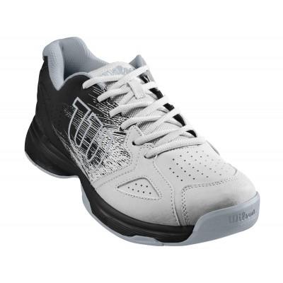 Кроссовки теннисные мужские Wilson KAOS Stroke  (белый/чёрный)
