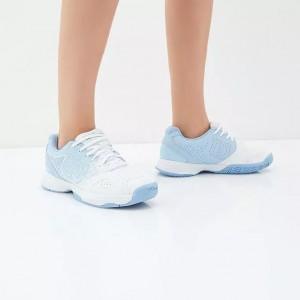 Кроссовки теннисные женские Wilson KAOS Stroke (голубой/белый)