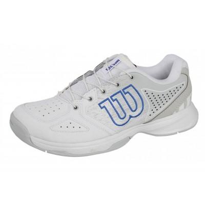 Кроссовки теннисные детские Wilson KAOS JR QL (белый)