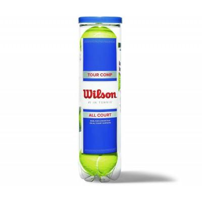 Мячи теннисные Wilson Tour Comp (4 шт. в упак.)  (WRT102600)