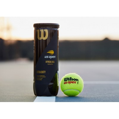 Мячи теннисные Wilson US Open (3 шт. в упак.)  (WRT106200)