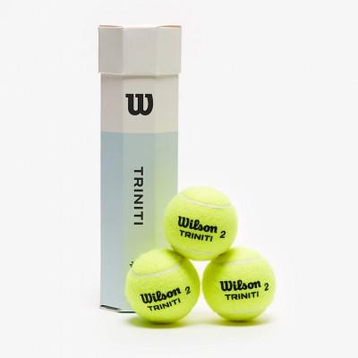 Мячи  теннисные Wilson Triniti (4 шт. в упак.)  (WRT115200)