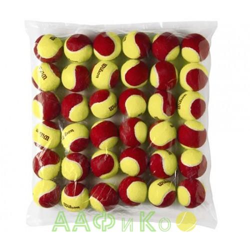 Мячи теннисные Wilson Stalter Red Tball 36 шт. в упак. (WRT13700B)