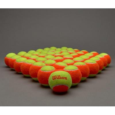 Мячи теннисные Wilson Stalter Orange Tball 48 шт. в упак. (WRT13730B)
