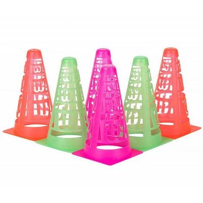 Набор конусов Wilson Tennis Safety Cones (6 шт.)