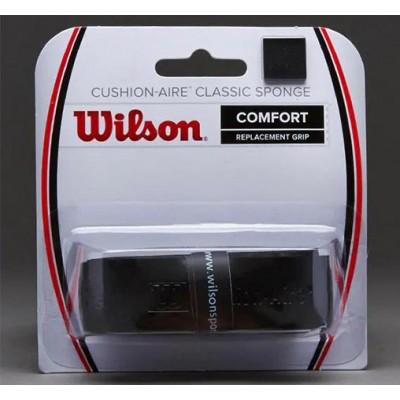 Обмотка базовая для т/ракеток Wilson Cushion-Aire Classic Spronge (1шт. в уп.). чёрный