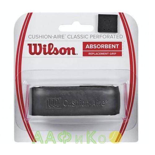 Обмотка,намотка базовая для т/ракеток Wilson Cushion-Aire Classic Perforated (1шт. в уп.). чёрный  (WRZ4210BK)