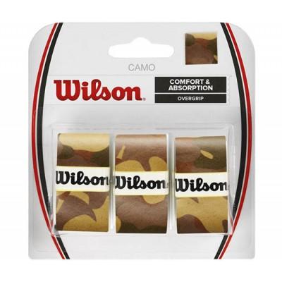 Обмотка для т/ракеток Wilson Camo Overgrip (3шт.в уп.) коричневый