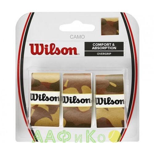 Обмотка,намотка для т/ракеток Wilson Camo Overgrip (3шт.в уп.) коричневый