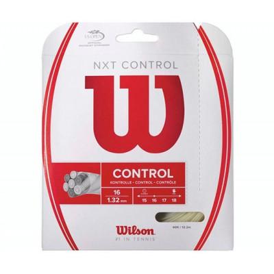 Струны теннисные Wilson NXT Control 1.30 (12.2 м) натуральный (WRZ941900)