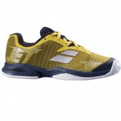Кроссовки теннисные Babolat JET ALL COURT JR (тёмно-жёлтый/чёрный)