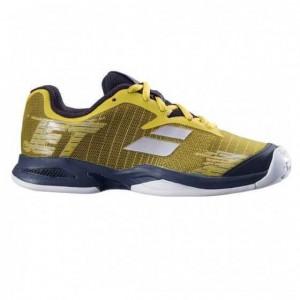 Кроссовки теннисные Babolat   JET CLAY JR (тёмно-жёлтый/чёрный)