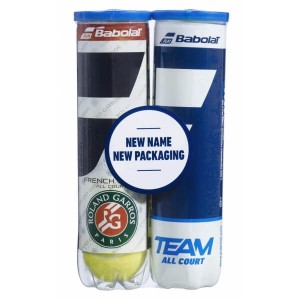 Мячи  теннисные  Babolat Bipack French Open All Court/Team All Court (4+4 мяча в тубе)