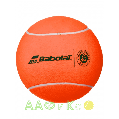 Мяч  теннисный сувенирный Babolat  Jumbo Ball Wllft (оранжевый)