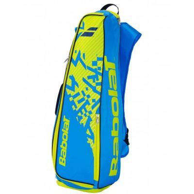 Рюкзак-сумка Babolat BACKRACQ 8 (синий/лимонно-жёлтый) (757004-325)