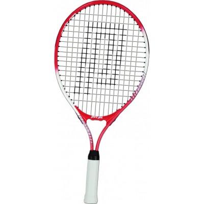 """Ракетка теннисная Pros Pro Junior 21"""" - 53,50 cm красно-белая"""