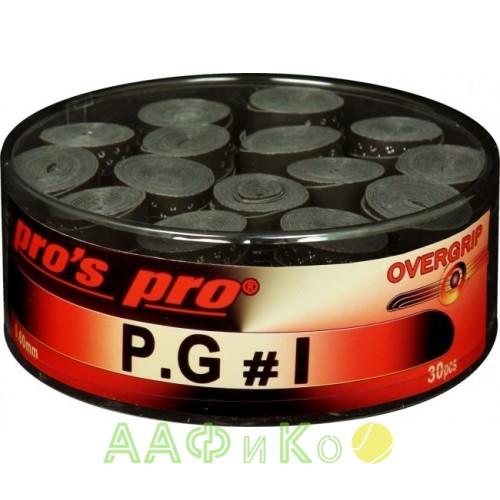 Намотка Pros Pro P.G. 1 30шт/уп черные