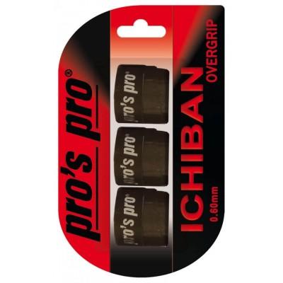 Намотка Pros pro ICHIBAN 3 шт/уп черные