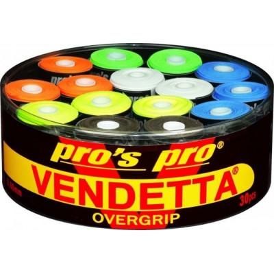 Намотка Pros pro Vendetta Grip 30 шт/уп разноцветные