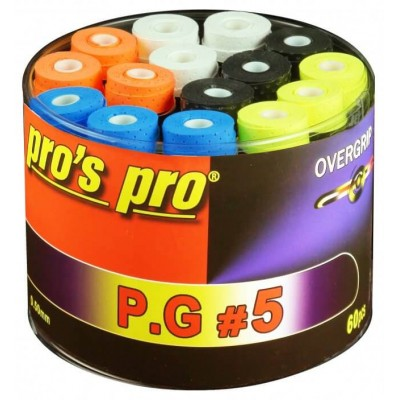 Намотка Pros Pro P.G.5 60 шт/уп разноцветные